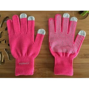 Knit Touchscreen Skidproof Gloves