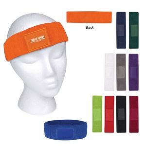 Sweatband With Patch